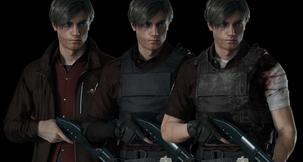 Resident Evil 2 Remake Leon Customization Pack Mod