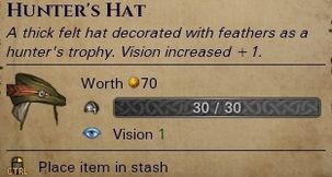 Battle Brothers Hunters Hat Mod