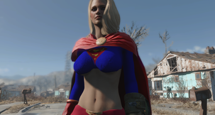Fallout 4 Supergirl Outfit Mod