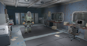 Fallout 4 The Remnants of Vault 45 - B.E.T.A. Mod