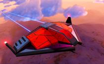 No Man's Sky Beyond Sentinel Police Player Ship Mod
