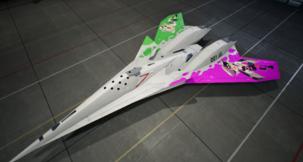Ace Combat 7: Skies Unknown ADF-11F -Squid Sisters- Mod
