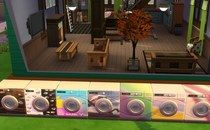 The Sims 4: Laundry Day Washing Machines Mod