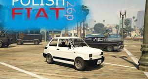 Grand Theft Auto V Fiat 126p 1.0 Mod