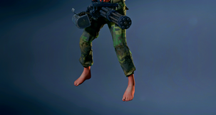Resident Evil 2 Remake Barefoot Military Claire