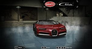 Need for Speed Most Wanted Bugatti Chiron Skin Mod