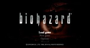 Resident Evil HD Remastered Biohazard Intro Screen Mod