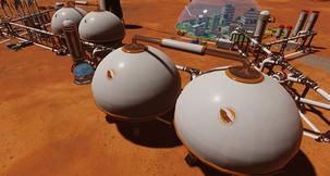 Surviving Mars Extra Large Water Tank Mod