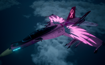 Ace Combat 7: Skies Unknown FA-18F -Mercy- (Pink) Mod