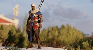 Assassin's Creed: Origins Greek Hedj Outfit Mod