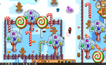 Stardew Valley Christmas Candyland Mod