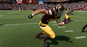 Madden NFL 20 Redskins Warpaint Uniform Mod