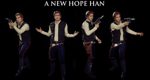 Star Wars Battlefront 2 (2017) Han Solo A New Hope...