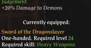Spellforce 2 Gold Weapon DPS Mod