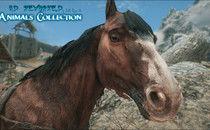 The Elder Scrolls V: Skyrim HD Reworked Horses Mod