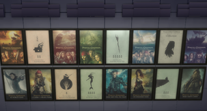 The Sims 4 PotC Poster Collection Mod
