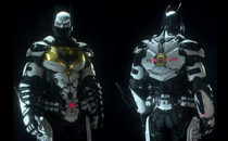 Batman: Arkham Knight White Batman Beyond 2039 Mod