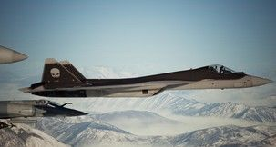 Ace Combat 7: Skies Unknown Su-57 -Ghost- Mod
