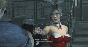 "Resident Evil 2 Remake Super ""Serious"" Bunny Spy Ada..."