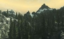 The Elder Scrolls V: Skyrim Dense Nordic Forests Mod