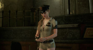 Resident Evil 2 Remake Claire Sexy Sheriff Outfit Mod