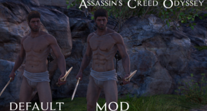 Assassin's Creed Odyssey Alexios Better Body Mod