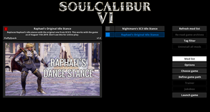 Soul Calibur VI Mod Manager