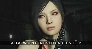 Grand Theft Auto V Ada Wong Resident Evil 2 Remake Mod