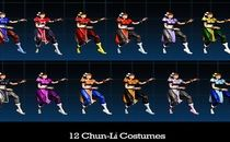 ULTIMATE MARVEL VS. CAPCOM 3 12 Chun-Li Color Pack