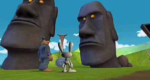 Sam & Max - Season 2: Episode 2: Moai Better Blues