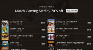 GOG.com begins 'March Gaming Medley' with 70% off until March 11th