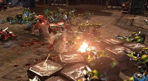 Dawn of War II for Xbox 360, co-op mode hinted