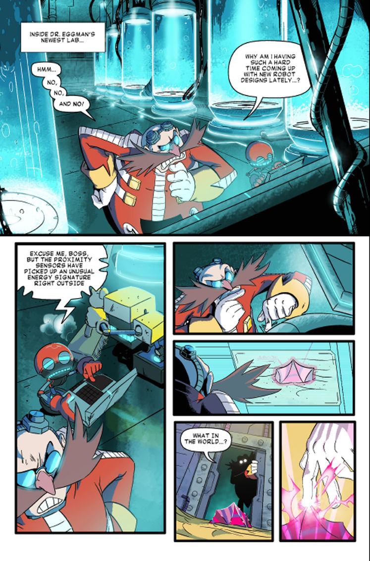 Read & Download The Final Sonic Forces Comic, Issue 4 - Rise of Infinite, For Free Here!