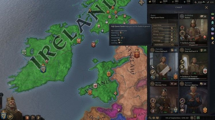 Crusader Kings 3 Council Guide