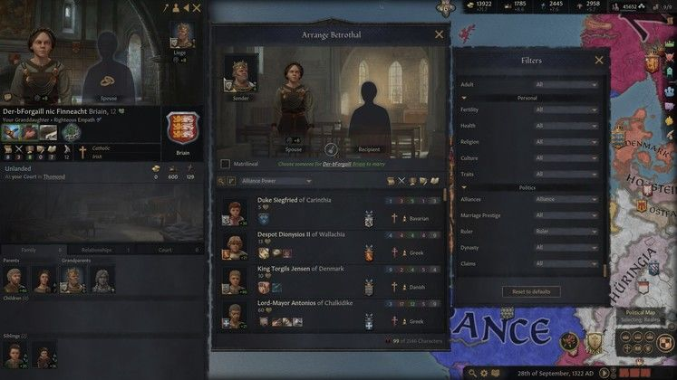 Crusader Kings 3 Marriage and Genetics Guide