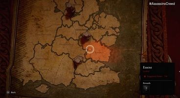 Assassin's Creed Valhalla Map - World Size and Locations