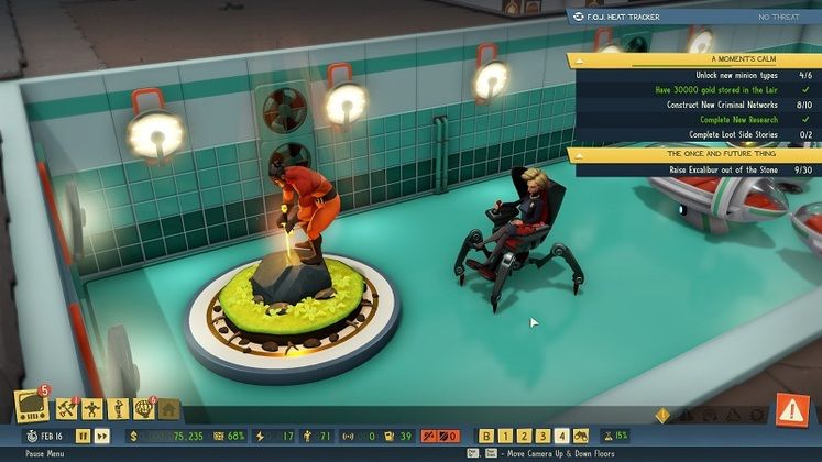 Evil Genius 2 The Once And Future Thing Side Story - How to Complete