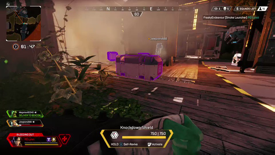 Apex Legends Purple Knockdown Shield How Much Health