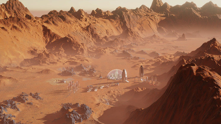 Surviving Mars New Developer Diary About The Surface of Mars
