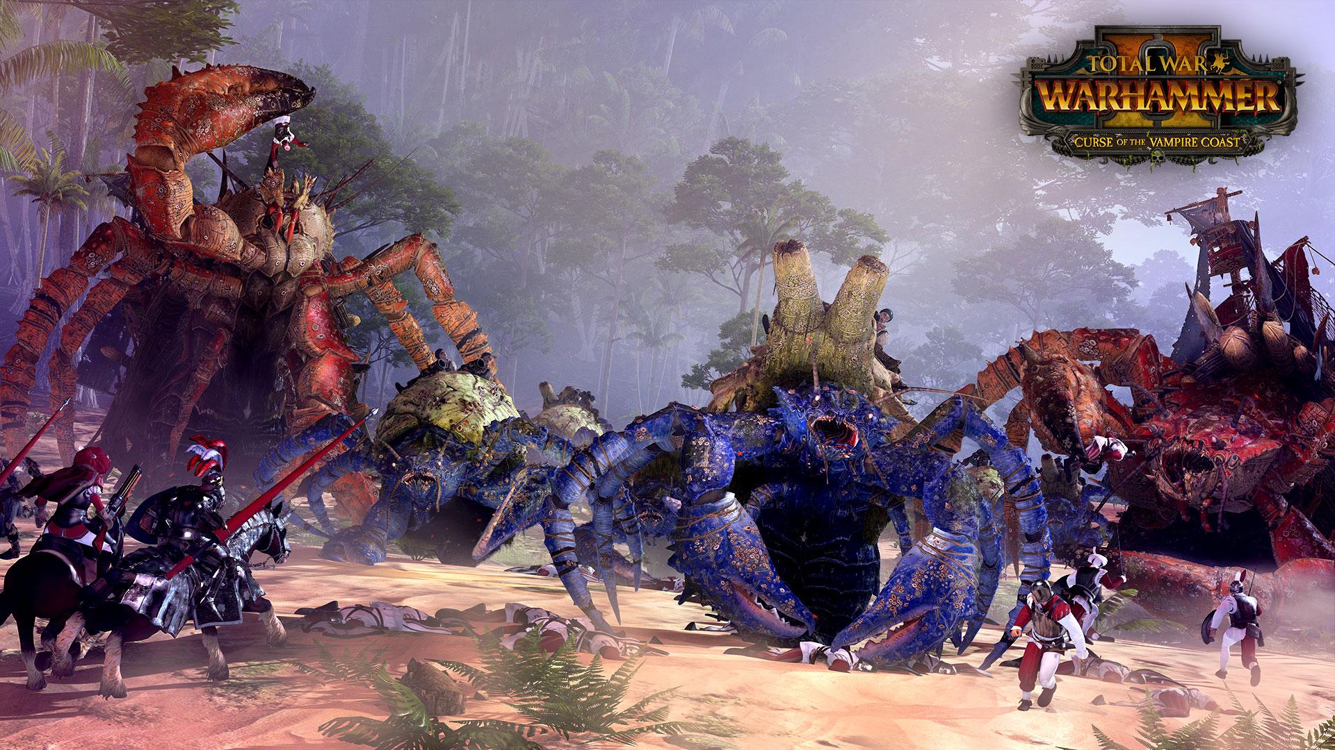 Total War: Warhammer 2 Curse of the Vampire Coast DLC