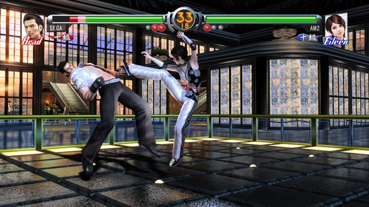 SEGA releases new Patch for Virtua Fighter 5 on Xbox 360