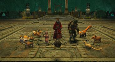 Final Fantasy XIV Patch 4.2 teases Kefka and Phantom Train