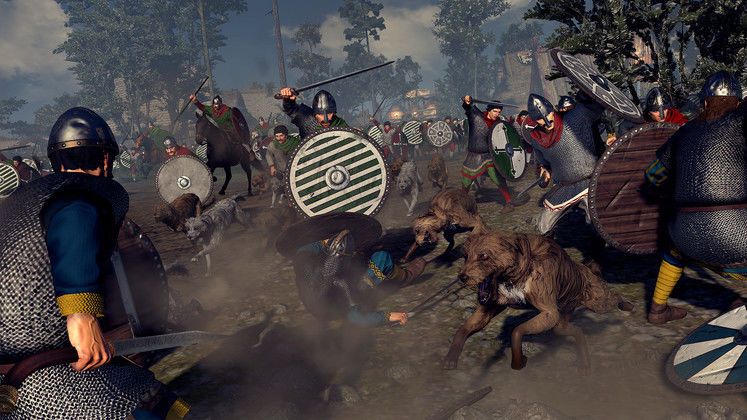 Total War Saga: Thrones of Britannia Celebrates St. George's Day With Cinematic Trailer