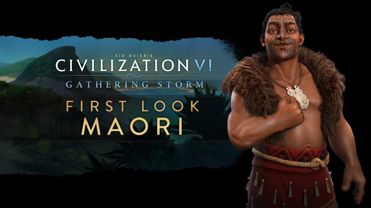 Civilization VI Gathering Storm Reveals the Maori