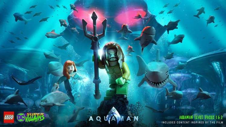 Lego DC Super-Villains Is Getting Two Aquaman Movie DLC Packs