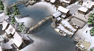 Medieval sandbox city-builder Banished inspired by Anno, Settlers and SimCity