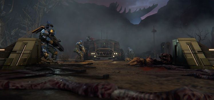 XCOM Successor Phoenix Point Shows Off Freaky Alien Bases