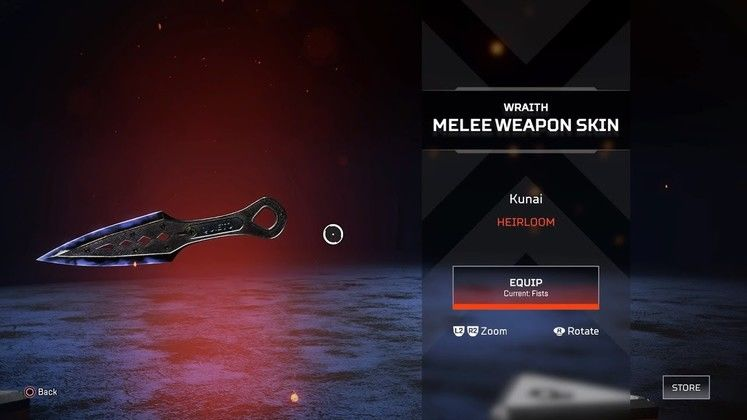 Apex Legends Wraith Knife - How to get the knife in Apex Legends