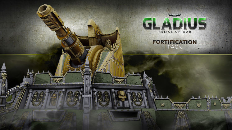 Warhammer 40K: Gladius - Relics of War gets new Fortification Pack DLC next week