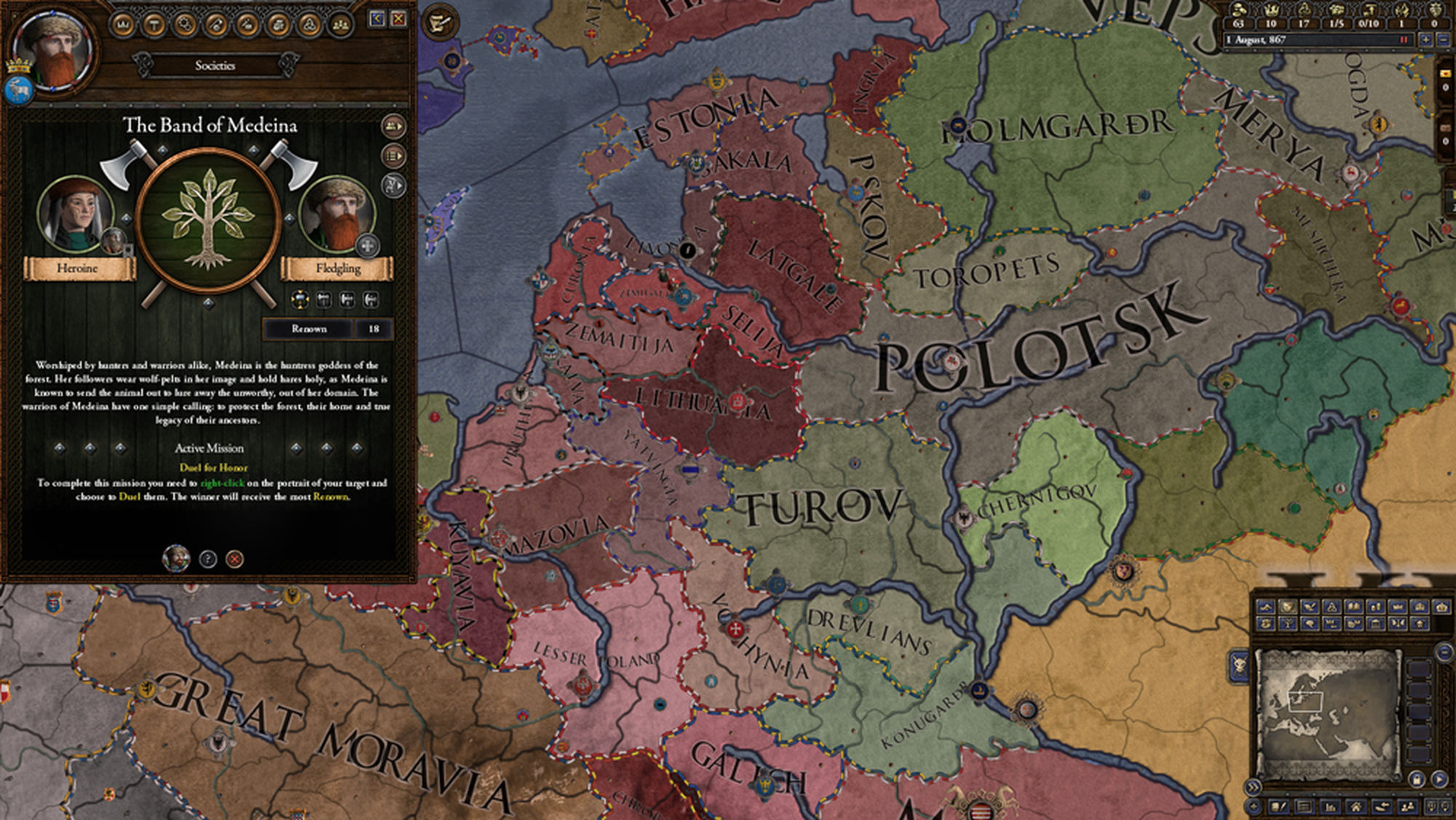 Crusader Kings II: Holy Fury gets Release Date, and a Tribute Band